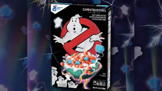 PRESS RELEASE: Limited edition Ghostbusters cereal sliming store shelves this month!