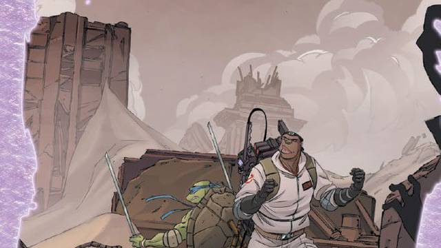 Preview of Teenage Mutant Ninja Turtles/Ghostbusters II #5
