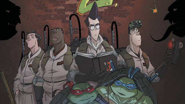 Preview: Teenage Mutant Ninja Turtles/Ghostbusters II #1