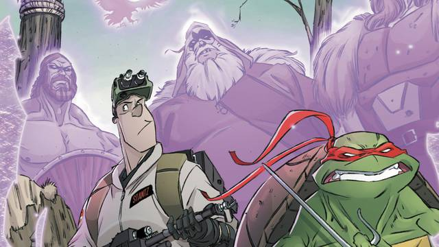 Preview: Teenage Mutant Ninja Turtles/Ghostbusters II #3