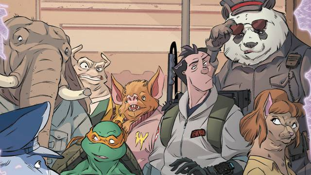 Preview: Teenage Mutant Ninja Turtles/Ghostbusters II #4