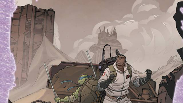 Preview: Teenage Mutant Ninja Turtles/Ghostbusters II #5