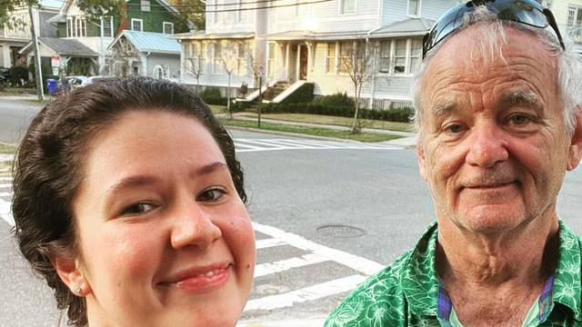 Random Bill Murray spotting proves that not even COVID-19 can stop the Murricane!