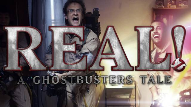 """""""REAL! – A Ghostbusters Tale"""" in anteprima a Roma!"""