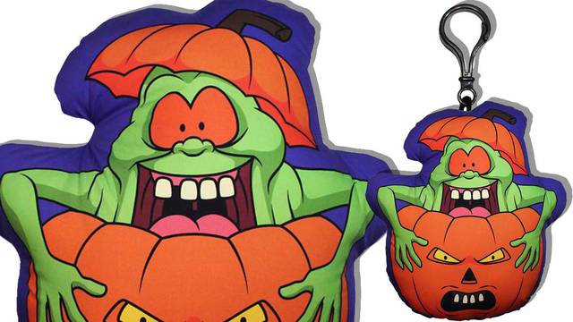 Real Ghostbusters inspired Halloween pillow now available from Horror Decor