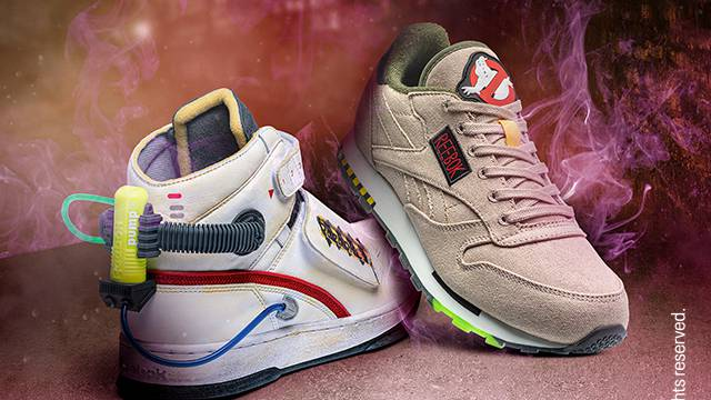Reebok officially reveal Ghostbusters themed footwear and apparel collection