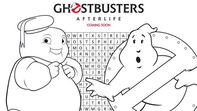 Regal Cinemas release Ghostbusters: Afterlife activity pages (DOWNLOAD NOW!)
