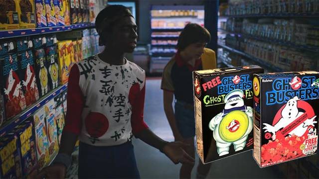 Remember Ghostbusters cereal? Stranger Things Season 3 remembers…