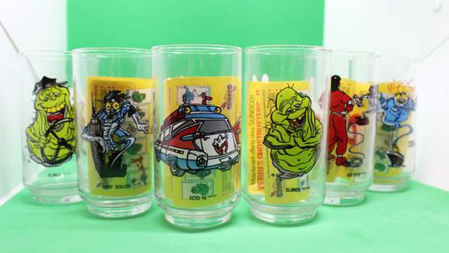 RETRO REVIEW: Ghostbusters 2 Collector Glasses