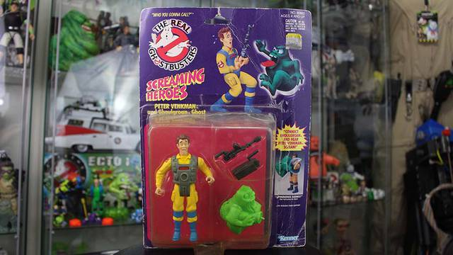 RETRO REVIEW: Unboxing a Real Ghostbusters Screaming Heroes Peter Venkman figure