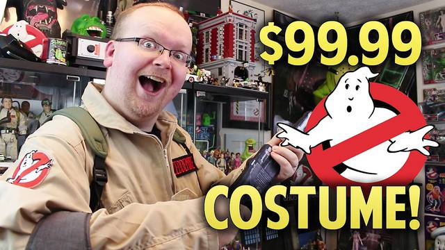 REVIEW: $99.99 PREMIUM GHOSTBUSTERS COSTUME! (Halloween Countdown)