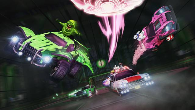 Rocket League celebrates Ghostbusters in new Haunted Hallows event