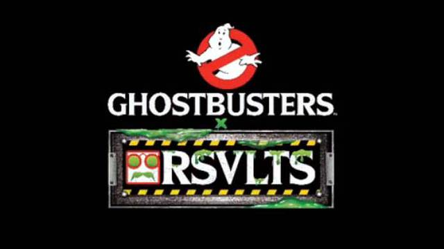 RSVLTS set to launch Ghostbusters clothing line tomorrow!