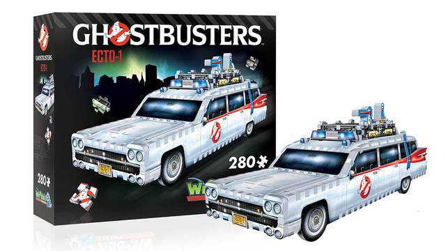 Size of Ghostbusters Ecto-1 3D puzzle revealed + new details!