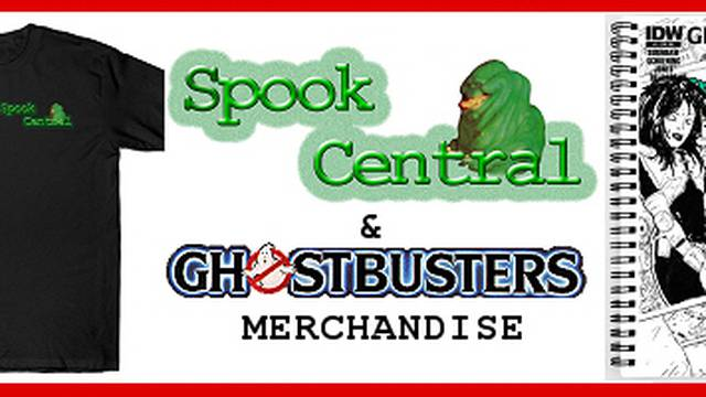 Spook Central Comic Cover Merchandise Now Available