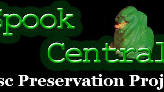 Spook Central's Disc Preservation Project - Limited Physical Release