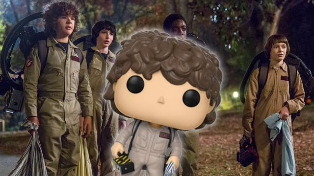 Stranger Things 2 Funkos Include Ghostbusters Kids