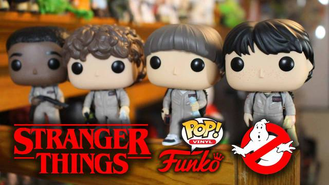 Stranger Things / Ghostbusters Funko POP! Vinyl Unboxing