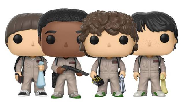 Stranger Things Ghostbusters Pop! Vinyl Figures