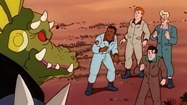 """That time the Real Ghostbusters battled """"Ninja Turtles"""""""