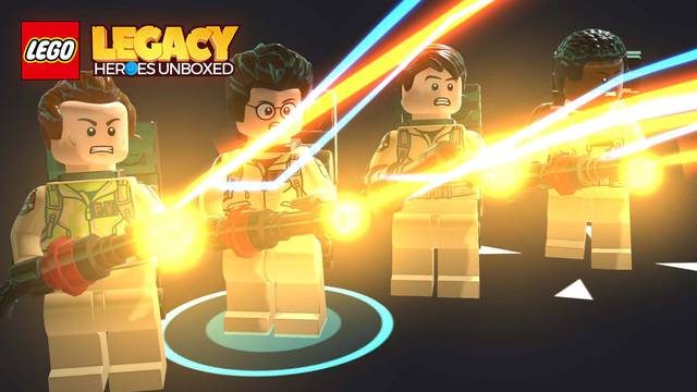 The Ghostbusters are back in Lego Legacy Heroes Unboxed!