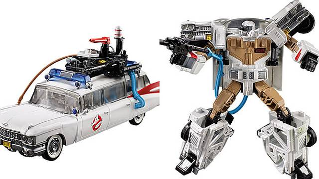 The Ghostbusters Ecto-1 Is Becoming a Transformer - ScreenCrush