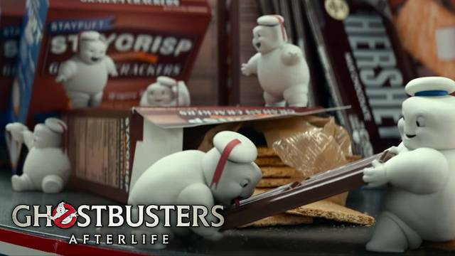 The Mini-Pufts make s'mores in new Ghostbusters: Afterlife clip!