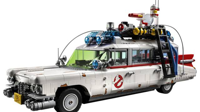 The Most Detailed LEGO Ecto-1 Ever is Coming November 15th!