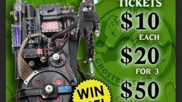 The Ontario Ghostbusters want YOU to WIN a proton pack!