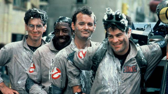 The original Ghostbusters just topped this past weekends box office