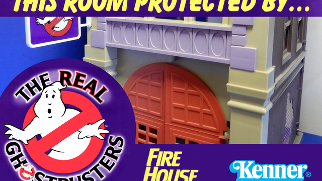 The Real Ghostbusters Firehouse Headquarters Playset from Kenner Toys