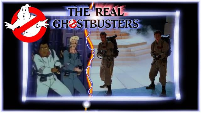 The Real Ghostbusters intro but recreated with clips from the films