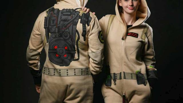 theCHIVE release Ghostbusters inspired bodysuit