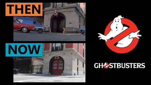 Then & Now: See how the Ghostbusters filming locations have changed over 38 years