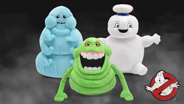 These adorable Ghostbusters: Afterlife plushies are now available at Cinemark!