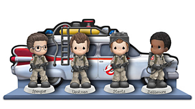These Precious Moments Ghostbusters figures are ADORABLE!