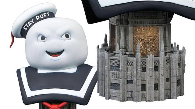This limited 10″ Stay Puft Marshmallow Man bust is a must for any Ghostbusters fan!