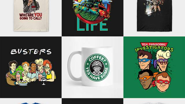 THIS WEEKEND: Save up to 35% off the entire Ghostbusters News store!