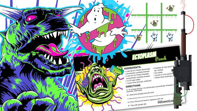 Throw a Ghostbusters Halloween party with these party games and food recipes!