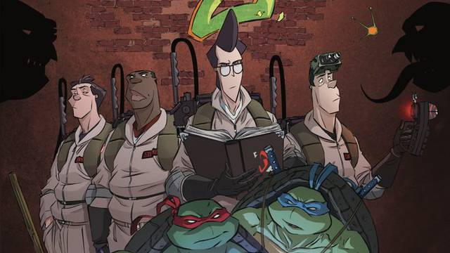 TMNT & GHOSTBUSTERS Reunite For Weekly Title