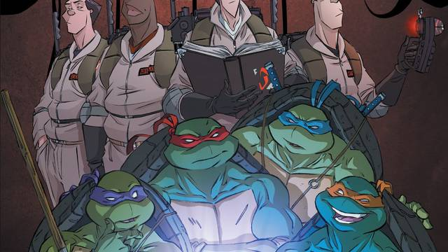 TMNT/Ghostbusters II #1 review: The haunting return of Darius Dun