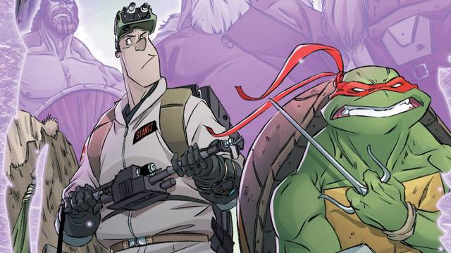 TMNT/Ghostbusters II #3 review: Weird dangers from across dimensions