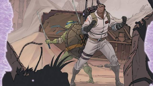 TMNT/Ghostbusters II #5 review: Sons of Tang Shen