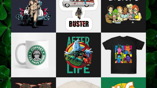 TODAY ONLY! Save 30% off the entire Ghostbusters News store!