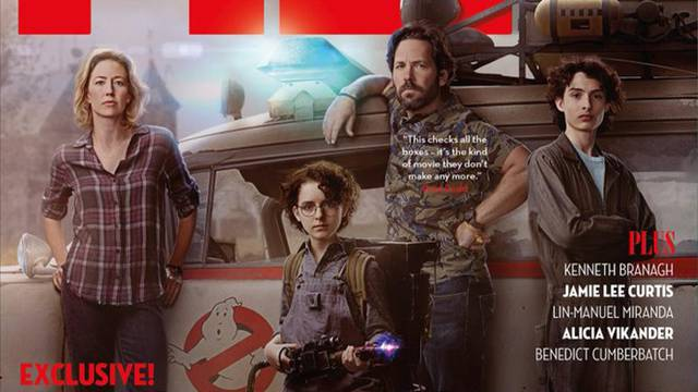 Total Film's Ghostbusters cover revealed, Paul Rudd and cast featured
