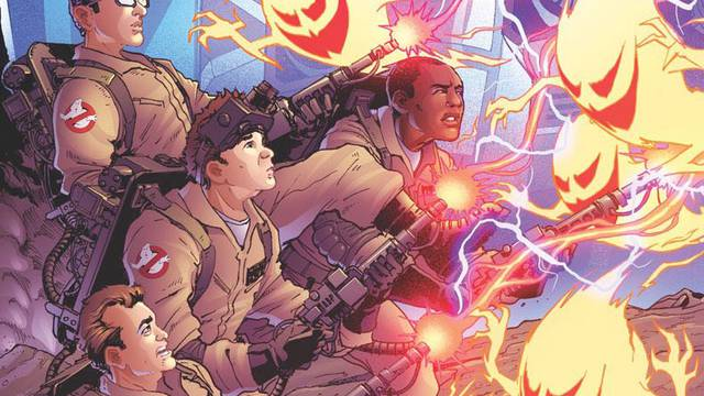 Transformers / Ghostbusters Issue #1 preview + new cover revealed