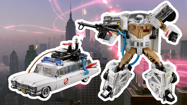 Transformers-Ghostbusters Mash-Up Coming From Hasbro - IGN