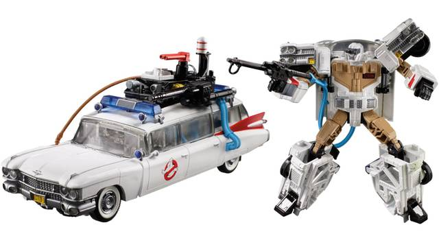Transformers Meets Ghostbusters in This Totally Tubular '80s Toy Mashup - Gizmodo