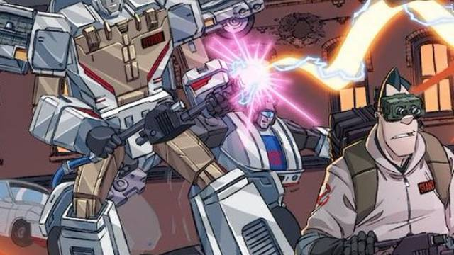 Transformers x Ghostbusters Issues 1, 2, 4 and 5 Covers Revealed - seibertron.com
