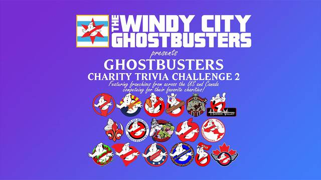Tune in tonight for this year's Ghostbusters Charity Challenge!